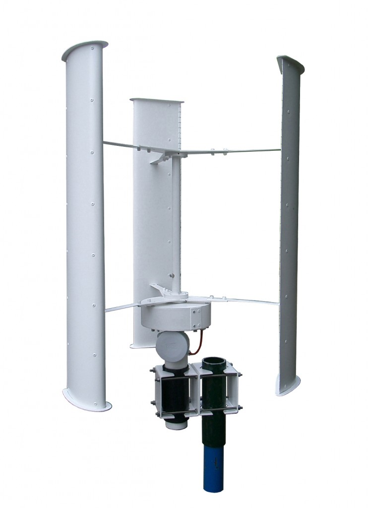 DT 100 small vertical axis wind turbine